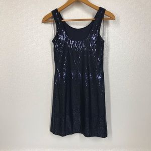 Oleg Cassini Dresses - Oleg Cassini Sequin Shift Dress Tank Style